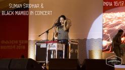 Suman Sridhar / black mambo in concert