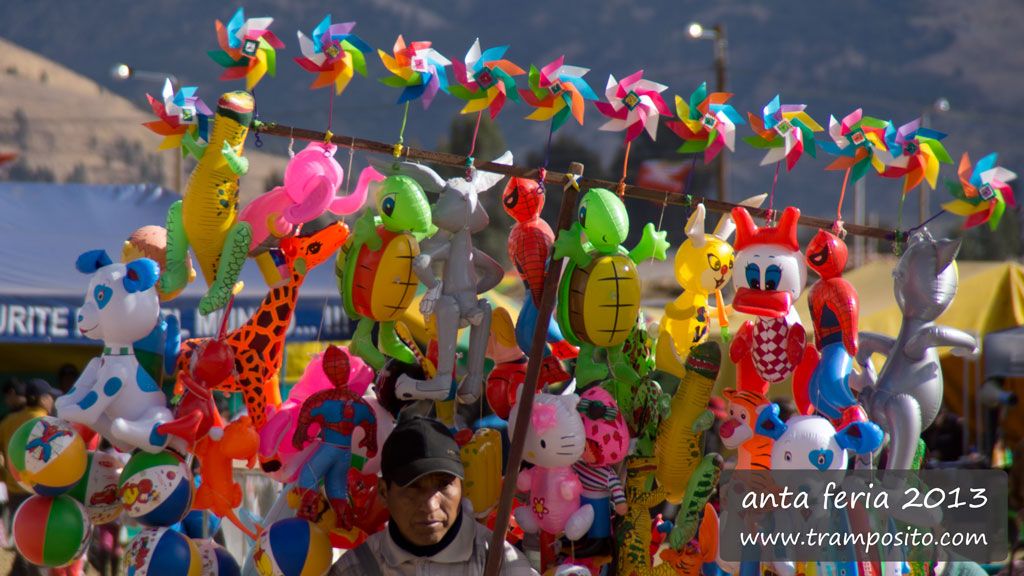 Anta Feria 2013 - Yearmarket of the Cusco Region