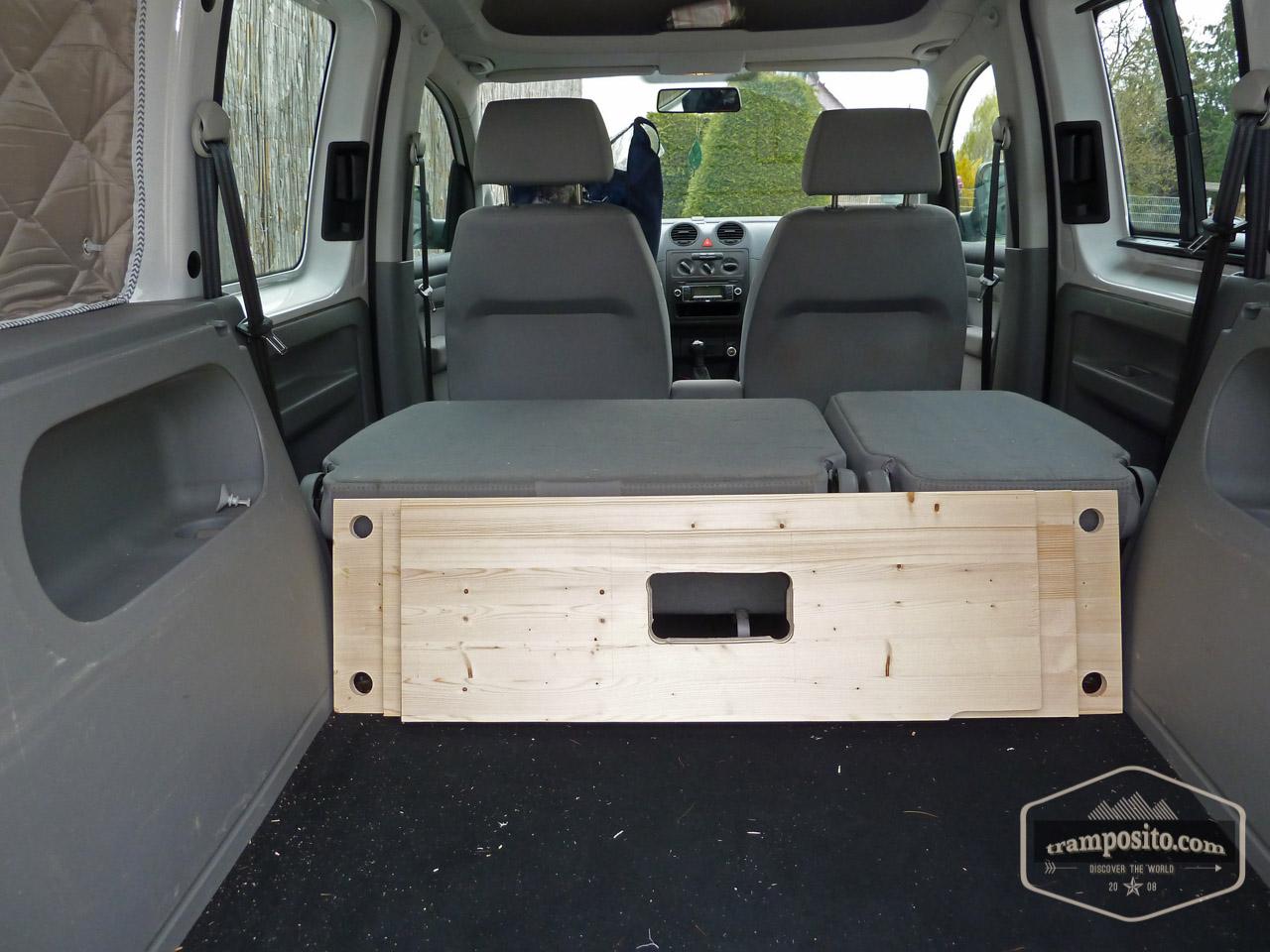 vw caddy camper ausbau. Black Bedroom Furniture Sets. Home Design Ideas