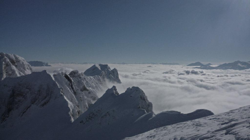 Skitouren am Berghaus Malbun
