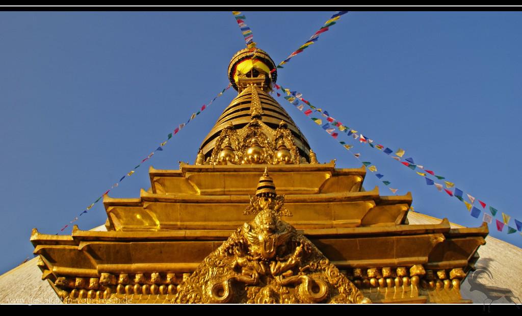 Swayambunath - der Affentempel
