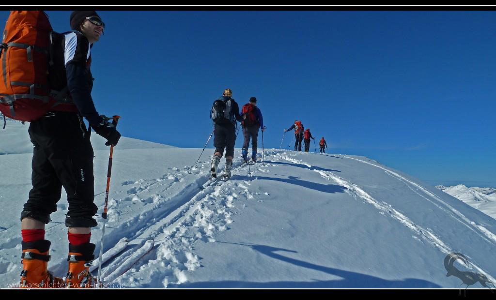 Skitouren an der Weidener Hütte