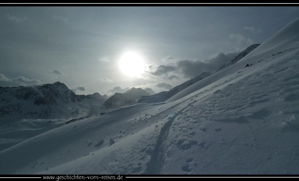 Winterraum Skitouren von der Pforzheimer Hütte
