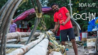 Ankunft in Inden - Cochin - Ein Indien Reisebericht