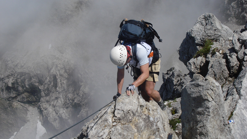 Klettersteig Hindelang : Nebelhorn hindelanger mountaingoat klettersteig wengenkopf